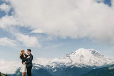 engagements on mountaintops.