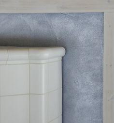 Tarja's Snowland: Ukkosensininen rapattu seinä, vihdoin! Taika Helmiäismaali Jupiter