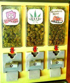 - Weed Dispenser .