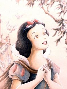 3. Kindest/sweetest character: Snow White. She's so sweet and it's incredible how kind she is to everyone. Snow White certainly would never hurt a fly