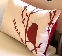 Another Heat Transfer pillow idea.