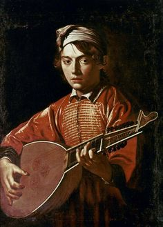 Michelangelo Merisi da Caravaggio  (1571-1610)   —  The Lute Player, 1597 (645×900)