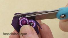 How to do Soutache Bead Embroidery: Part 5 How to Add a Backing