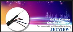 We have a new product which is Imported high quality Co-axial cable. Jetview YYX Cables, These cables are designed specially for CCTV camera installation. Cctv Camera Installation, Cable, New Product, India, Cabo, Goa India, Electrical Cable, Indie, Indian
