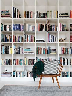 Image result for scandinavian design home library