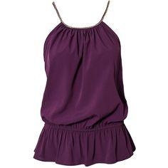 Vero Moda Nomi Top ($45) ❤ liked on Polyvore