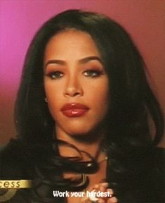 Wise words from Miss Aaliyah Haughton <3