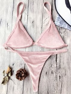 GET $50 NOW | Join Zaful: Get YOUR $50 NOW!http://m.zaful.com/cami-velvet-string-thong-bikini-set-p_276144.html?seid=3051631zf276144