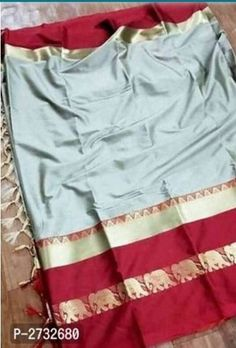 Fabulous Cotton Silk Saree with Blouse Piece Big Fashion, Fashion Sale, Trendy Fashion, Online Shopping Sarees, Sarees Online, Fashion Bazaar, Designer Silk Sarees, Amazing Shopping, Best Budget