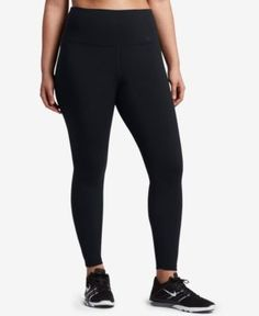 Nike Plus Size Power Legendary Compression Leggings - Black 3X