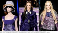 Deep Purple: Fall's Beauty Color of the Moment Deep Purple, Sequin Skirt, How To Make, How To Wear, Fall Winter, Sari, In This Moment, Makeup, Skirts