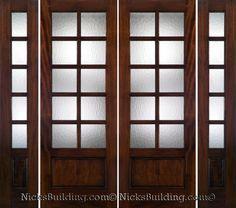 double door front - Google Search