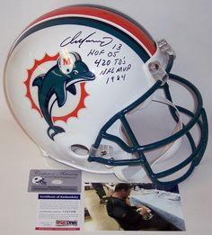 Dan Marino Autographed Hand Signed Miami Dolphins Authentic Helmet -  PSA DNA Sports Helmet c19965a3f
