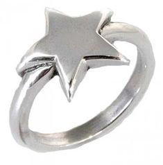 Wish Upon a Star Ring. #motorsport #sportsbike #skull #skulljewelery #ring  #bobber #chopper #forher #giftforher #women #gift #jewelery