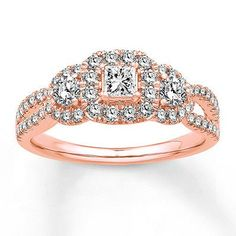 306 Best Engagement Rings Images On Pinterest Halo Rings Kay