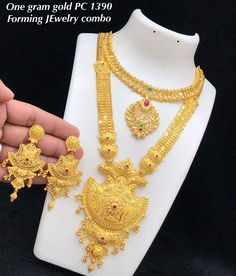 One gram gold jewellery Available at Ankhjewels for booking WhatsApp on Gold Bangles Design, Gold Earrings Designs, Gold Jewellery Design, Necklace Designs, Silver Jewelry, Indian Jewelry, Antique Jewelry, Silver Ring, Indiana