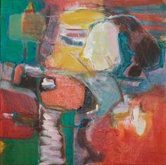 "Saatchi Art Artist Janice Sztabnik; Painting, ""Morning"" #art"
