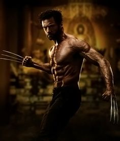 The Wolverine Hugh Jackman FOR KATIE ;)