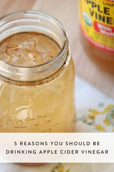 The real health benefits of drinking apple cider vinegar.