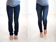 #LifeHack: How to Hem Your Jeans via Brit + Co.
