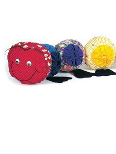 Caterpillar Toy Free Sewing Pattern