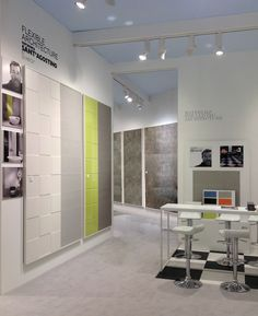 #Flexiblearchitecture by #Philippestarck exposed at our booth during #Covering2015 in Olando, Florida #design #designtiles #modern #architecture #stand #booth #fair #starckdesign #starck #interiordecor #homedecor
