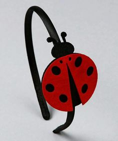 Another great find on Red Felt Ladybug Headband for my sadie bug This felt mouse bow measures approx. Ladybug Felt, Ladybug Party, Felt Headband, Baby Headbands, Broches Disney, Felt Hair Accessories, Red Felt, Lady Bug, Felt Art