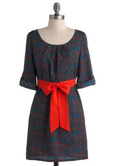 Modcloth Plumage with Aplomb Dress