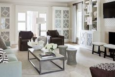 1110 - Traditional - Living Room - Images by Tobi Fairley Interior Design | Wayfair