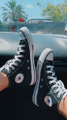 Converse All Star, Converse Chuck Taylor High, Converse High, High Top Sneakers, Chuck Taylors High Top, High Tops, Shoes, Fashion, Converse Shoes
