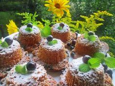 Gosia gotuje: Puszyste mufiny z borówką
