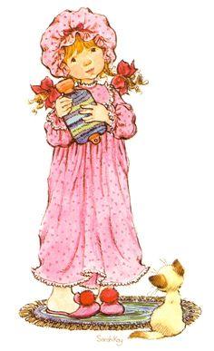 Sarah Kay album Decje novine Jugoslavija (n. Sarah Key, Holly Hobbie, Vintage Cards, Vintage Images, Vintage Pictures, Mary May, Hobbies For Women, Sweet Pic, Australian Artists