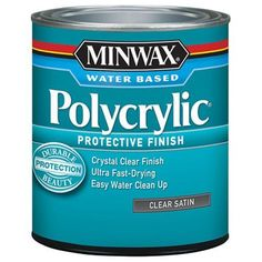 Minwax 233334444 Minwaxc Polycrylic Water Based Protectiv...