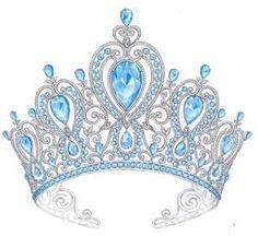 Yes!  Aquamarine tiara--my invisible one!  ;)