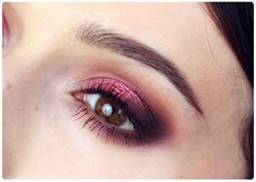 Alina Rose Makeup Blog: makeup Blend of Cocoa, delicate smoky with intense color.