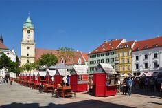 Plaza de armas Bratislava | Insolit viajes