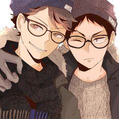 Oikawa Tooru and Iwaizumi Hajime | Haikyuu!!