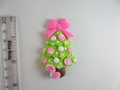 Árbol de Navidad caramelos. Grano de arcilla encanto
