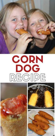 Make homemade corn d