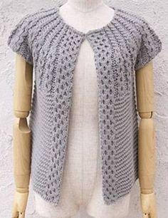Baby Knitting Patterns, Pullover, Crochet, Sweaters, Fashion, Knitting Sweaters, Knit Vest, Dots, Women