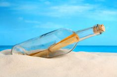 letter in a bottle ... ready for summer!