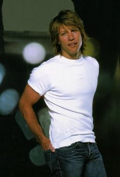 Jon Bon Jovi. I squealed when his Living on a Prayer video came out on MTV. Don't laugh. That was a couple of years ago!