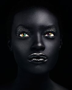By Daniella. | Fantasy and Avant garde - beautiful black lips.