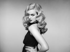 Milou Sluis styled by Sam McKnight photography Rankin for ghd eclipse