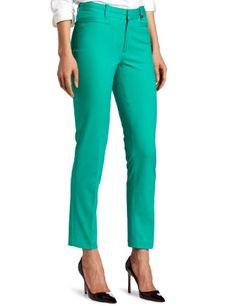 Calvin Klein Women`s Petite Slim Slant Pocket Pant $55.99