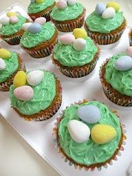 Perfect, simple easter baking idea (Nests)