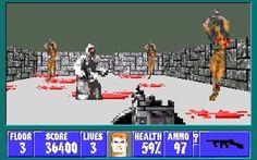 Wolfenstein 3D Games.