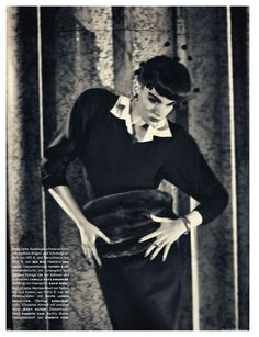 VOGUE GERMANY OCTOBER 2011  As time goes by Crystal Renn by Sebastian Kim Styling: Katie Mossman Hhair: Franco Gobbi Make-up: Lisa Houghton