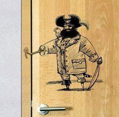 Captain Hook Door Lock
