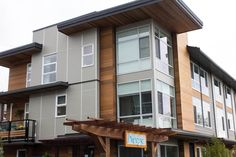 Another great multifamily install in Surrey BC. Our EZ.Slope® technology keeps all rainwater clear from the panel to keep your building free of dirt streaks and water collection Water Collection, Panel Systems, Surrey, Cement, Exterior, Technology, Building, Outdoor Decor, Modern